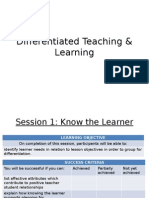 Differentiated Teaching & Learning for ELT Course
