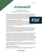 VoIP over satellite white paper