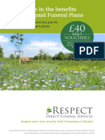 Respect Green Burials - Funeral Plans 2015 Brochure