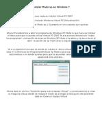 Tutorial Para Instalar XP Mode en Windows 7