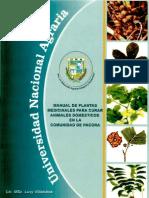 Manual de Plantas Medicinales Para Curar Animales Domesticos