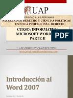 5. Microsoft Word 2007 Tema 01 - 2015