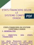 Etats Financiers Selon Le Syscohada