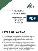 Referat Snake Bite