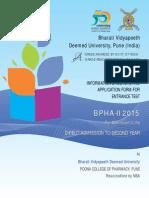 BVP Pharm II 2015