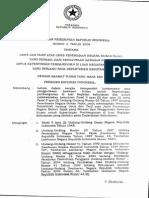 Peraturan Pemerintah No.2 Tahun 2008