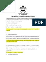 Evaluación Microfinanzas 1