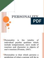 personality lec