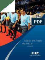 reglas futsal actualizada