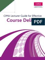 CIMA Lecture Guide