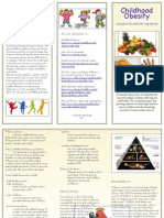 Brochure for Health Psychology