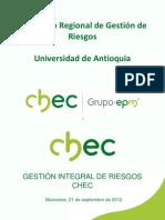 Gestión Integral ISO 31000 Sep 2012