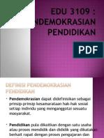 Pendemokrasian-Pendidikan