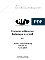 Cement Emissions