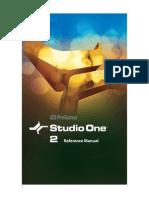 Studio One - Manual Em Português