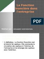 La Fonction Financière Dans l'Entreprise