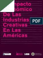 OEA Impacto Industrias Creativa de Las Americas