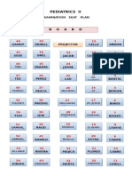 Pedia II Seatplan
