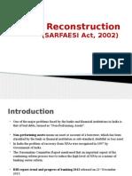 Asset Reconstruction