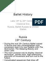 ballet history 20th century