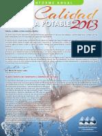 Informe de Calidad de Agua Potable-- Lajas Urbano