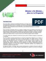 SD 1305 Blindar o No Blindar