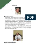 Cientificos Guatemaltecos DEL CONCYT