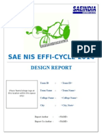 Design Report Format_Efficycle 2014