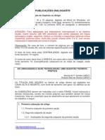 Normas de Formatacao Dialogarts_2014