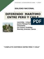 DIFERENDO  MARÍTIMO ENTRE PERÚ Y CHILE exposición.pptx