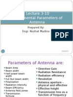 Chapter 01 Fundamental Parameters of Antenna