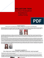 evaluation task