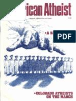 American Atheist Magazine Sep 1986