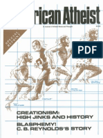 American Atheist Magazine Oct 1986