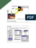 Excel Link for Matlab