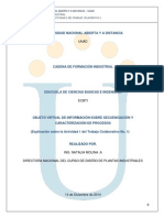 OVI Secuenciacion Caracterizacion Proceso