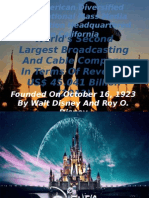 Walt Disney Updated