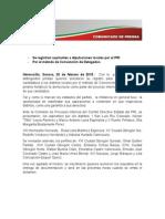 20-02-15 Se Registran Aspirantes a Diputaciones Locales Por El PRI