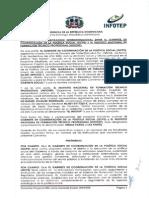Convenio Interistitucional entre el GCPS y el INFOTEP
