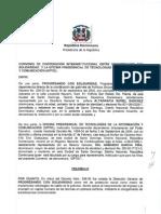 Convenio Interistitucional entre el GCPS y el OPTIC