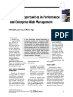 Missed Opportunities in Performance and Enterprise Risk Management