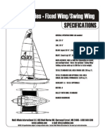 Elan 7.7 Series • Fixed Wing/Swing Wing