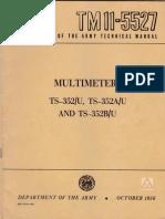 Multimeter TS-352 ...SERVICE MANUAL