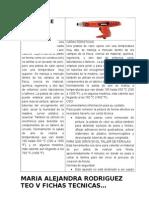Fichas Tecnicas Tecnologia Herramientas de Trabajo Maria Rodriguez