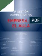 2º Gestión Administrativa.empresa en El Aula
