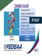 Mundo Aventura - FEDEAA 2015