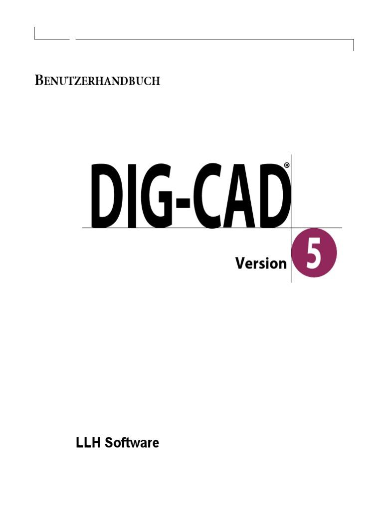 DIG CAD5 Benutzerhandbuch