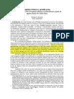 Legítima Defensa y Justificación - Liberalismo a Partir de Carlos Nino - Hernán G. Bouvier