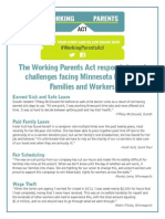 Working Parents Act Stories
