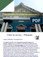 Maçonaria e Clube de Serviços